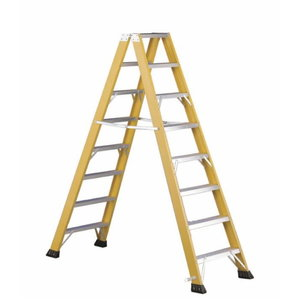 Stepladder V6 Fibreglass 2x4 steps, Svelt