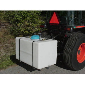 Irrigator with 360 l plastic tank wo spr. unit for 3P hitch
