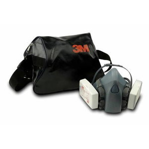 Half Mask Carry Case, 106 7000108590, 3M