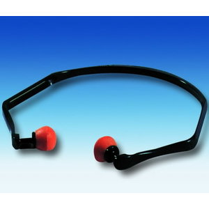 Ear plugs with a flexible band SNR26db, , 3M