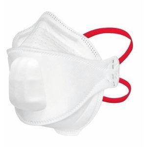 Respiraator klapiga, Aura, Meditsiin FFP3, 3M