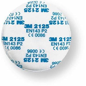 3M 2125 P2 dalelių filtras 70071091683, 3M