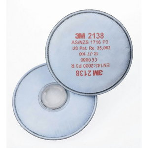 Dalelių filtras 2138 P3, 3M