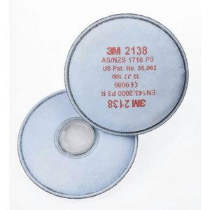 3M 2138 P3  dalelių filtras, 3M