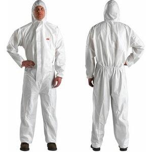 Aizsargtērps  4510 5/6, balts, 2XL izmērs 2XL, 3M