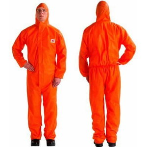 protective coverall 4515, Protection 5/6, Orange, 3M