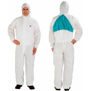 Protective Coverall, white, 3M