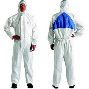 Protective overall, white, 3M
