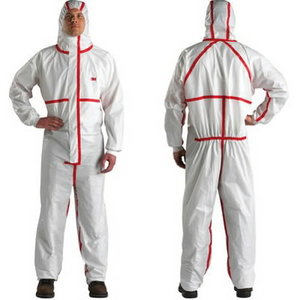 Protective overall white/red class 4/5/6 4565, 3M