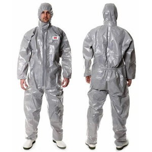 protective coverall 4545 XL 3/4/5/6 Grey, 3M