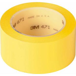 Izolācijas lente  471, dzeltena, 50mm x 3, 3M