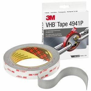 VHB 4941P akrilinė dvipusė juosta 19mm x3m, 3M