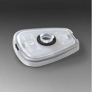 Tolmufiltrite adapter 2000/6000-seeria gaasifiltrile, paar, 3M