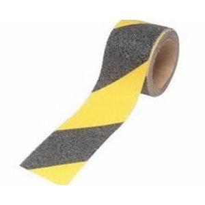 Libisemisvastane teip kollane/must 50mm20m DE272997953, 3M