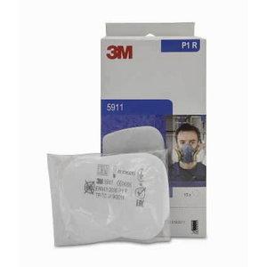 Противопыльный фильтр P1 пара, плоский, для газового фильтра, , 3M