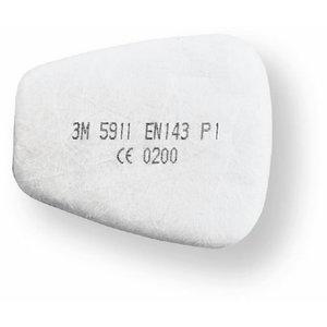 priešfiltris P1,  pakuotėje 25 poros, 3M