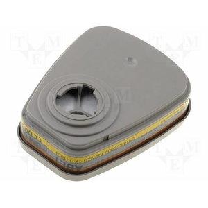 Organinių garų,neorganinių garų ir rūgščių dujų filtras ABE1, 3M