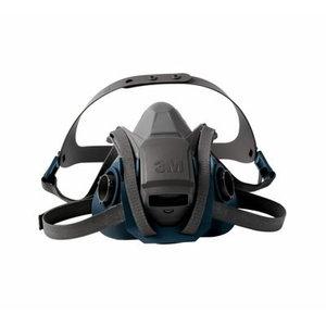 3M Halfmask 6502QL QuickLatch, middle size M, 3M
