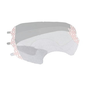 Protective film for 6000-series full mask, 3M