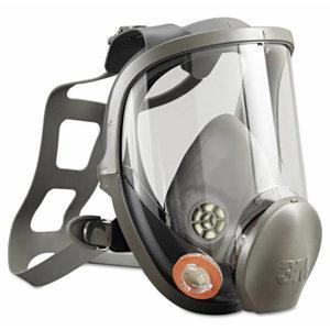 Pilna veido kaukė didelė, silikoninė 6900 XA007708259 L, 3M
