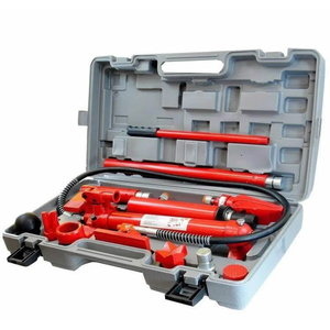 Portable hydraulic equipment 10T, blow mold case, TBR
