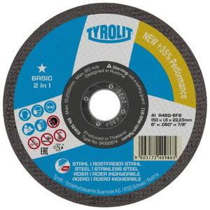 Šlifavimo diskas 125x2,8x22,23 A30Q-BF