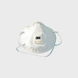 Tolmurespiraator klapiga 8122 FFP2 NR D UU001643624, 3M