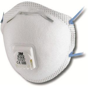 Cup-Shaped Respirator (Valved) FFP2, 3M