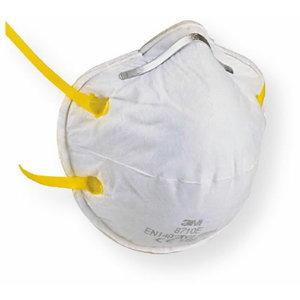 Respiraator FFP1, klapita, 3M