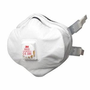 Tolmurespiraator, korduvkasutatav,  klapiga FFP3