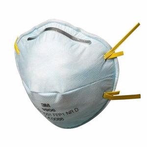 9906 FFP1 tolmurespiraator klapita, 3M