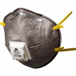 Respiraator klapiga FFP1 - orgaanilised aurud, 3M