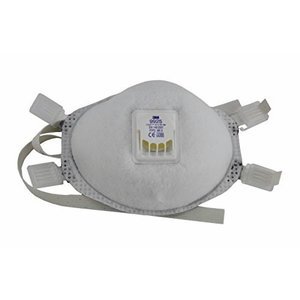 Respirators ar vārstu FFP2 9925, 3M
