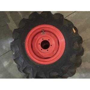 Front Tyre+Wheel AG 9.5-16  L5040-5740, Kubota