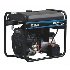 Strāvas ģenerators TECHNIC 10000 A AVR C5, SDMO