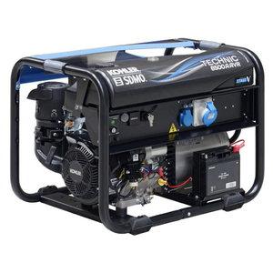 Strāvas ģenerators TECHNIC 6500 A AVR C5, SDMO