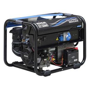Strāvas ģenerators TECHNIC 6500 E AVR+modys+verso 50M 40A