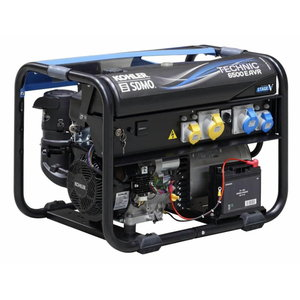 elektrigeneraator TECHNIC 6500 E AVR+modys+verso 50M 40A