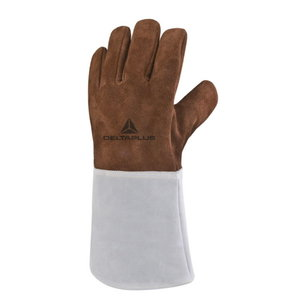 Gloves, heat-resistant for welders,cowhide 10, Delta Plus