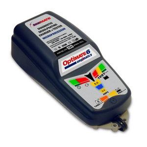 OptiMate 6 akumulatoru lādētājs, uzturētājs un testeris
