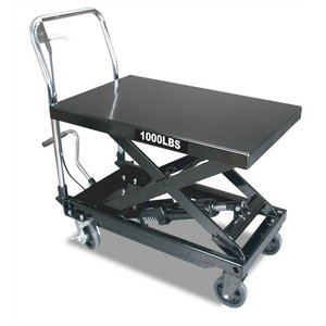 Saliekams pacelšanas galds 450kg, TBR