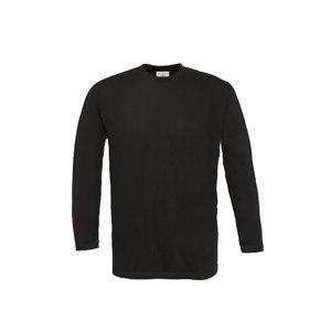 Marškinėliai  Exact 190 ilgom rankovėm, juoda M