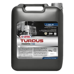TURDUS POWERTEC 1100 15W40 209L+2x20 FREE, Lotos Oil