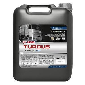 Rasketehnika õli TURDUS POWERTEC 1100 15W40 209L+2x20 FREE