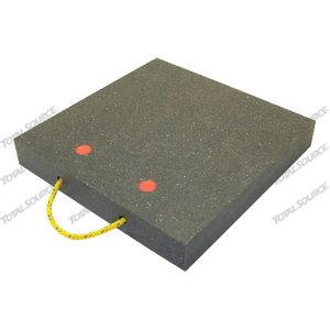 Stabilizer plates 400x400x60mm capacity 12000kg, TVH Parts