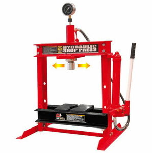 Hydraulic press 12T, hand pump compact, TBR