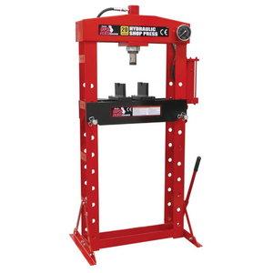Hydraulic press 20T, hand pump, TBR
