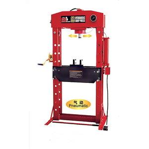 Hydraulic press 50T,  pneumohydraulic BIG RED, TBR