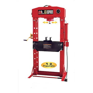 Hydraulic press 50T,  pneumohydraulic BIG RED, TBR