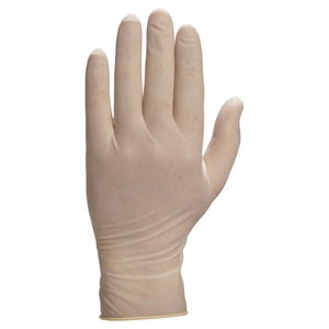 Powdered latex disposable gloves 8/9 (pack. 100pcs), Delta Plus
